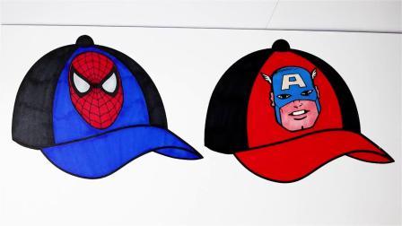 超级英雄超高速棒球帽彩页超级英雄彩页儿童电视