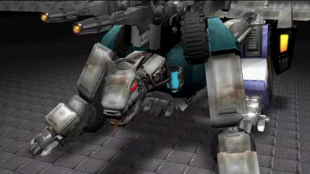 饭制 变形金刚 六面兽 变形 3D 动画