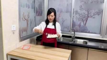 天热了,教你做椰蓉芒果冻,几分钟做一盘,比甜品店的好吃