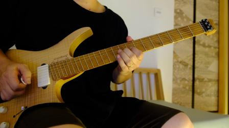 Guitar in the living room