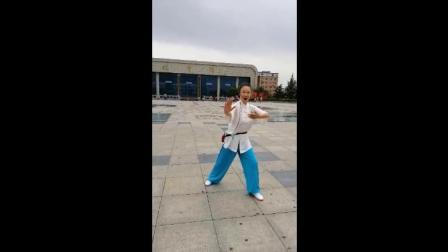 周亚珍老师教练103式太极拳