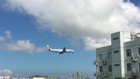 浦东机场 中国东方航空MU788 罗马-上海 A359