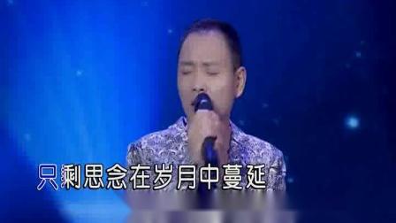 雨中的思念-祁隆(KTV左伴右唱)