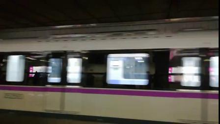 上海地铁5号线紫罗兰出站(3)