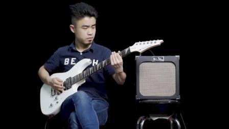 Minsine名森电吉他音箱40W带失真室内可携式演出木吉它音响三道输入