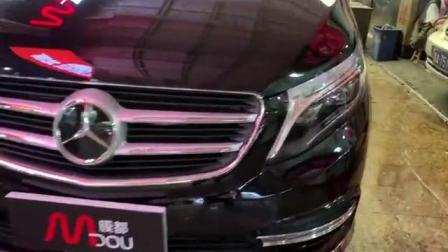 国潮加身|奔驰维特斯施工TPU隐形车衣 和瑞卡威的完美邂逅