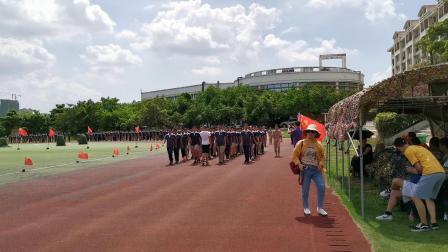 二外2019初三熔炼团队会操