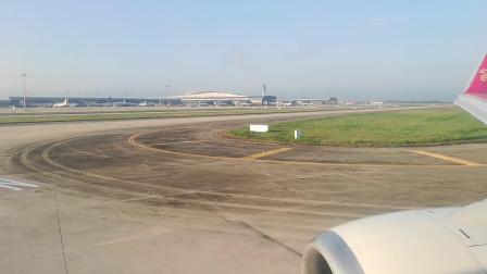 深航ZH9348波音737-800降落南宁吴圩机场