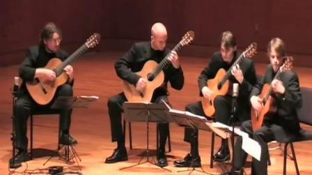 【古典吉他】肖邦Etude no. 3格鲁吉亚吉他四重奏