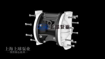 全塑料气动隔膜泵
