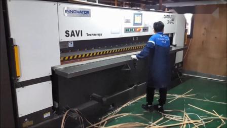 台湾龙德 - 单板木皮双刀剪切机