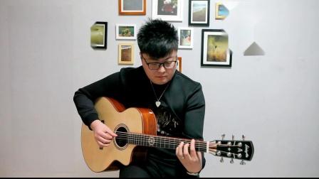 【利威斯顿】吉他指弹教学 :《枫桥夜泊》