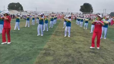 2019年7月6号全县广场舞,秧歌舞等等比赛。