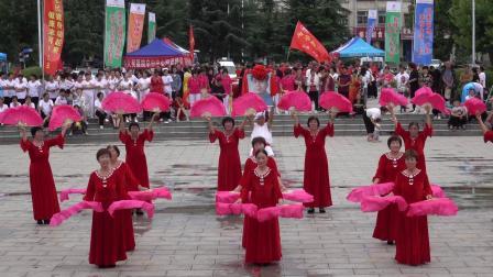 双扇舞:东方红