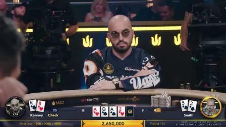 德州扑克:2019传奇扑克百万英镑慈善赛国人藏书奴夺冠FT07