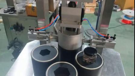 联腾GC-ZKXG30B工业型瓶子封口机老乾妈装辣椒酱牛肉罐头食品真空压盖机封盖机旋盖机大型包装机全自动拧盖机