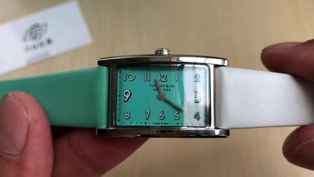 原单蒂芙尼 TIFFANY EAST WEST™系列2-Hand 迷你腕表腕表