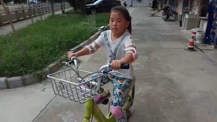 第一次骑成人车调头