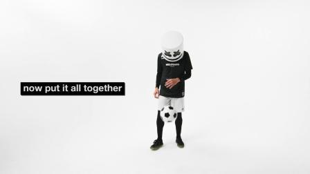 Marshmello教你踢足球,灵魂问题,老棉怎么球也踢得这么好?老棉还有不会的东西嘛?!