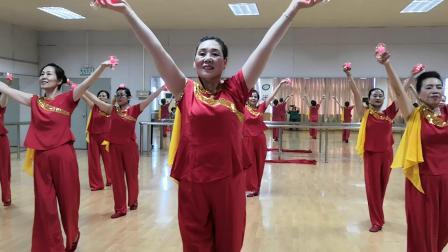 今天是你的生日(京华社区夕阳红舞蹈队)