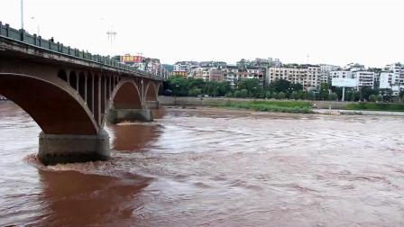 石破天惊-2019年7月30日洪水过资中