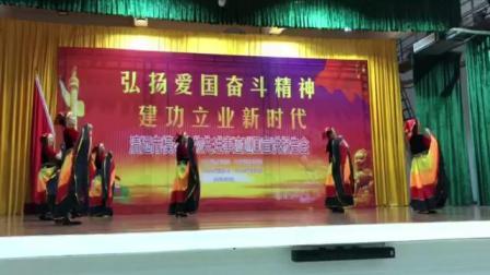 星河湾腰鼓队赴香港演出的节目