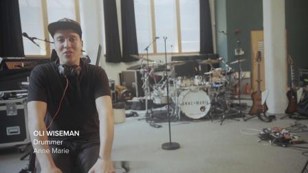 [中字]Anne-Marie的鼓手Oli Wiseman谈混合鼓组