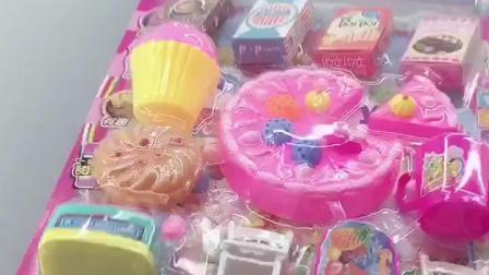 儿童扮家家酒女孩Q萌蛋糕店收银机仿真卖东西当老闆专卖店玩具混批