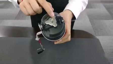 西卡便携式咖啡磨豆一体杯操作视频