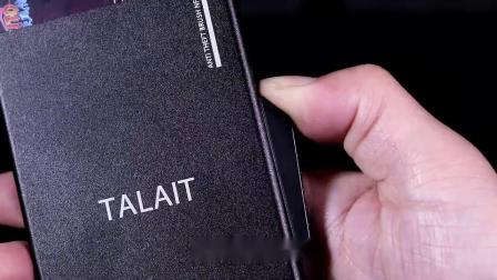 RFID男士自动卡包NFC屏蔽卡套防盗刷防消磁金属钱夹超薄银行卡夹