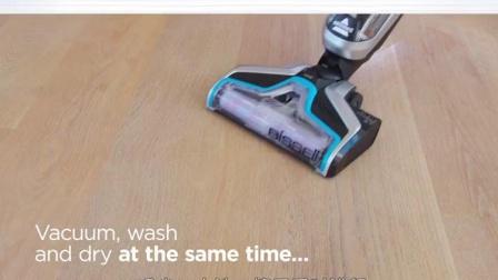 bissell必胜无线手持吸尘器家用洗地机大吸力强力擦地拖地All
