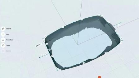 将3D扫描物体进行反向工程制作CAD模型