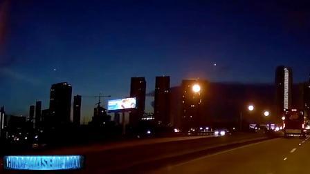 【UFO】一组近期洲际导弹试射,不明云层现象,