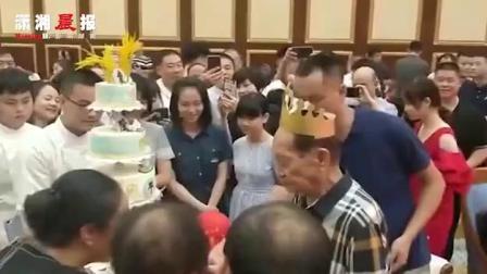 #袁隆平九十大寿# 蛋糕9层上植水稻,八个字总结人生经验