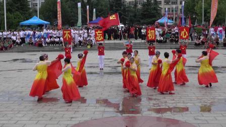 舞蹈:党旗更鲜艳