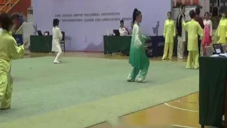 2017年11月成都温江参赛吴式45式太极拳