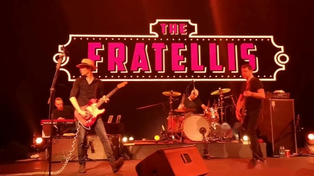 【Strawberry Alice】The Fratellis 2018上海 . 14 She's Not Gone Yet But She's Leaving