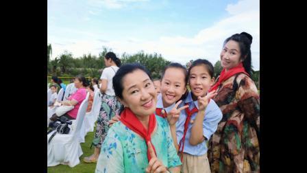 中美青少年交流中国传统戏曲文化京豫版《穆桂英挂帅》