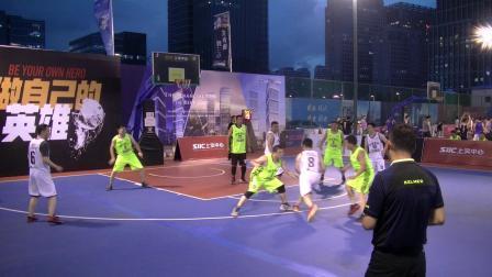 2019青岛金家岭上实中心杯篮球赛 B组 民生银行 VS 中国信保 3