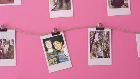 富士一次成像儿童拍立得可拍照打印相机宝宝男女孩生日礼物mini