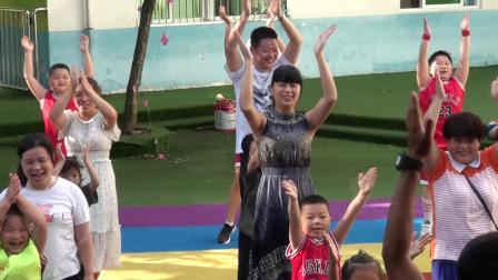 茅坪镇中心幼儿园篮球体能培训班精彩瞬间