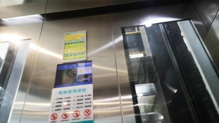 【优酷UP主视频】恐高者勿入@信义·金御半山中转梯