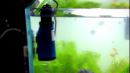 鬆宝油膜处理器鱼缸除油污器水族箱水草内置过滤器增氧泵过滤设备