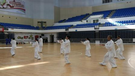 县老年体协队参加全市42式太极拳比赛2019.8.12