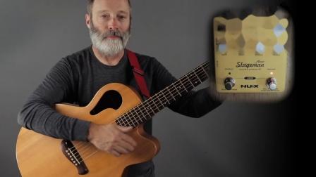 NUX全新木吉他前级效果器StagemanFloor!好看又好玩~