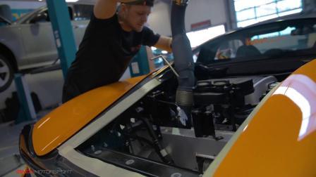McLaren 570S 改装ARMYTRIX不锈钢全段阀门排气套件 喷火秀!