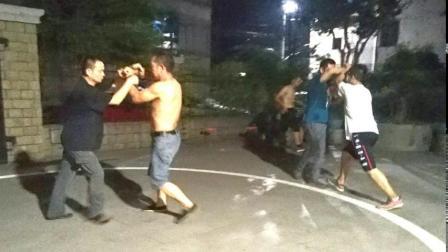 金华市意拳研究会锻炼(2019.8.12)