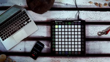 Novation // 使用 Launchpad pro 制作 Tech House