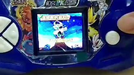 梦龙彩色掌机洛克PK赛尔号洛克王国精灵养宠物电子刷卡彩屏游戏机
