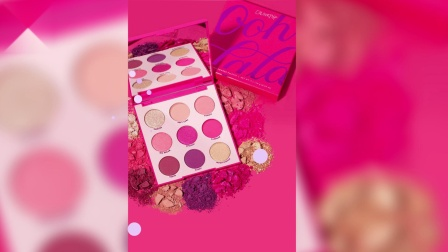 Colourpop 全新9色眼影盘 12款主题色随意画出各种妆容